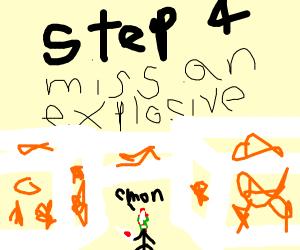 Step 3: Burn a hospital