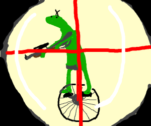 dat boi with crosshairs