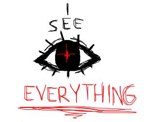 Eye see everything