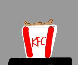 Bucket of chicken