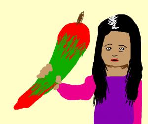 Peruvian Puff Pepper!