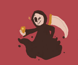 death takes a selfie
