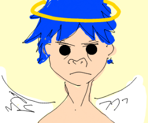 2D from Gorillaz is an angel now
