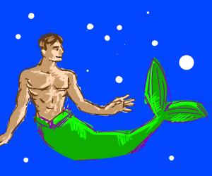 male mermaid