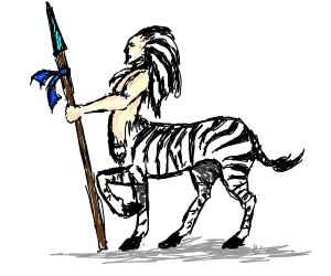 Half-zebra Centaur