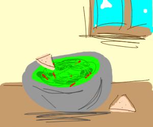 perhaps some guacamole