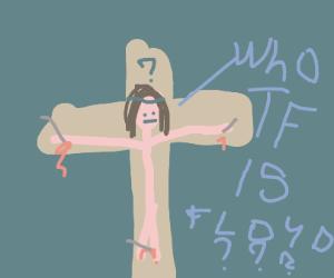Jesus asking who Floyd is