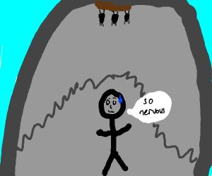 Super Nerverous in cave