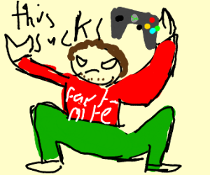 salty gamer