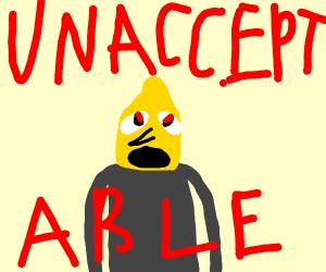 weird Lemongrab screaming
