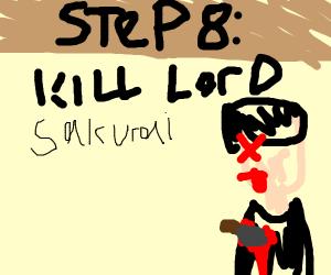 Step 7: Pray to our lord and savior Sakurai