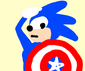 Kim Possible vs Sonic - Drawception
