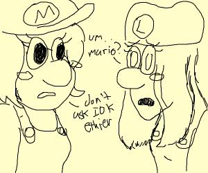 if mario and luigi had a gender swap