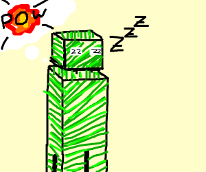 A sleeping creeper