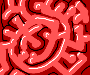 Intestinal maze