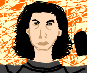 kylo ren took his helmet of and hes ugly