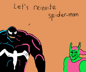 Green Goblin and Venom strategize