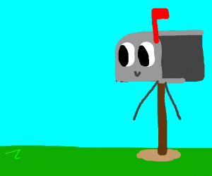 Mailbox with arms