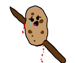 Potato on a stick