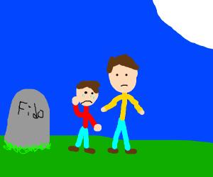 Fido has died