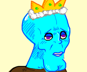 Handsome Squidward is king