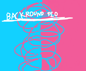 Make your own background PIO (pass it on)