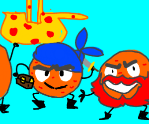 The Pepperoni pirate gang