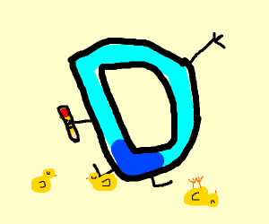 Drawception logo with three ducks