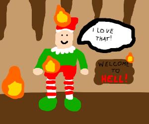 Elf enjoying Hell