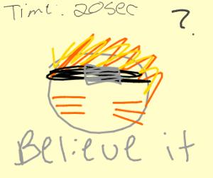naruto drawn in 20 seconds