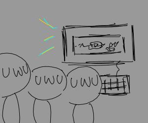 3 uwus watch a computer