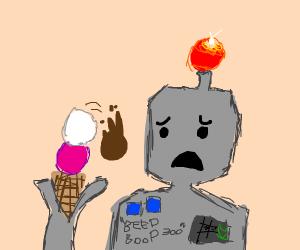 Sad Robot :(