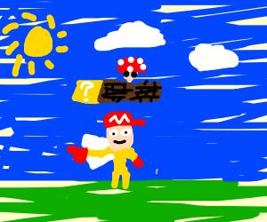 Mario but he's a horrifying monstrosity