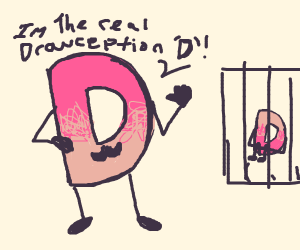 Fake Drawception D says he's the real one