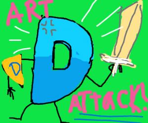 Drawception art attack