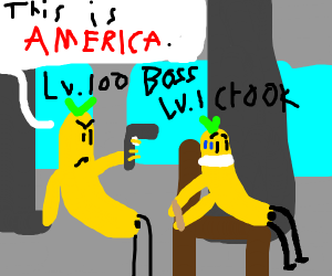 This is America with a Banana