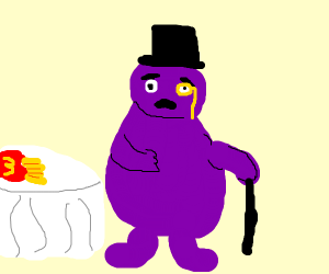 grimace learning to be fancy