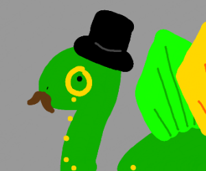 Mr. Dinosaur III ( Gentleman Dino )
