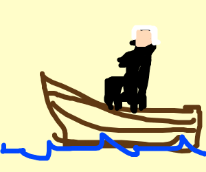 President crossing a River