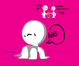 Who else is alone this Valentine's Day?