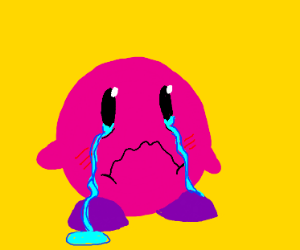 kirby so sad he did nothing wrong