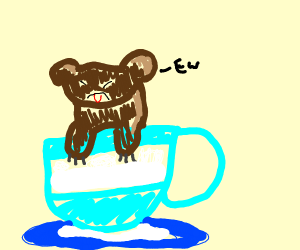 teacup bear that is not delicious
