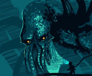 C T H U L H U  demon of the deep