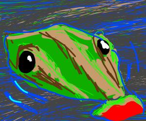 A big-lipped aligator moment