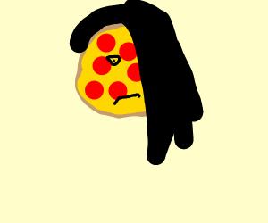 a EMO pizza