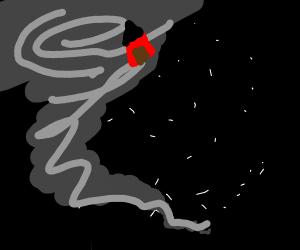 Space tornado