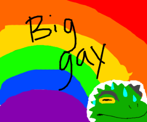 the big gay consumes all