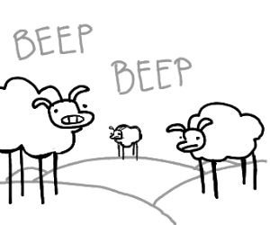beep beep im a sheep