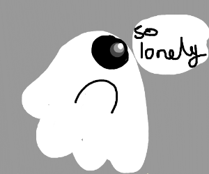 Ghost without arms is lonely