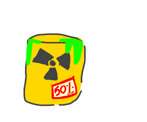A Barrel of Radiation for sale with discount.